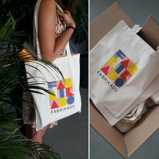 tote bag fabrikado outil pedagogique goodies architecture