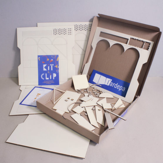 ardepa kit and clip boite presentation outil pedagogique maquette journee nationale de l'architecture dans les classes jnac