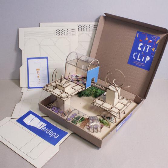 ardepa kit and clip boite contenu outil pedagogique maquette journee nationale de l'architecture dans les classes jnac